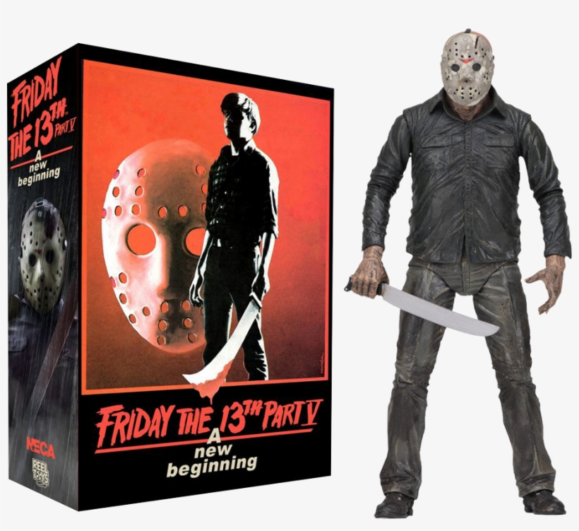 Friday The 13th Part V - Neca Friday The 13th Part 5 Ultimate, transparent png #4969607