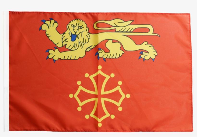 Drapeau France Tarn Et Garonne - Blason Du Moyen Age, transparent png #4982441