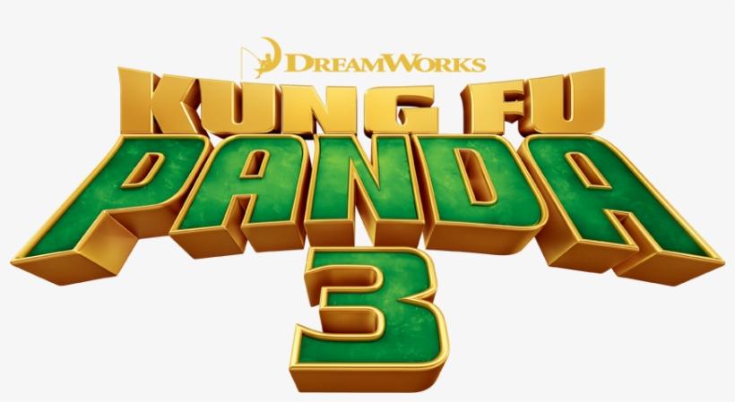 Kung Fu Panda Logo Men's Long Sleeve T-shirt - Kung Fu Panda 3 Title, transparent png #4993429