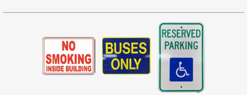 Aluminum Signs - Handicap Reserve Parking Dual Arrow Sign R7-8, transparent png #4997544