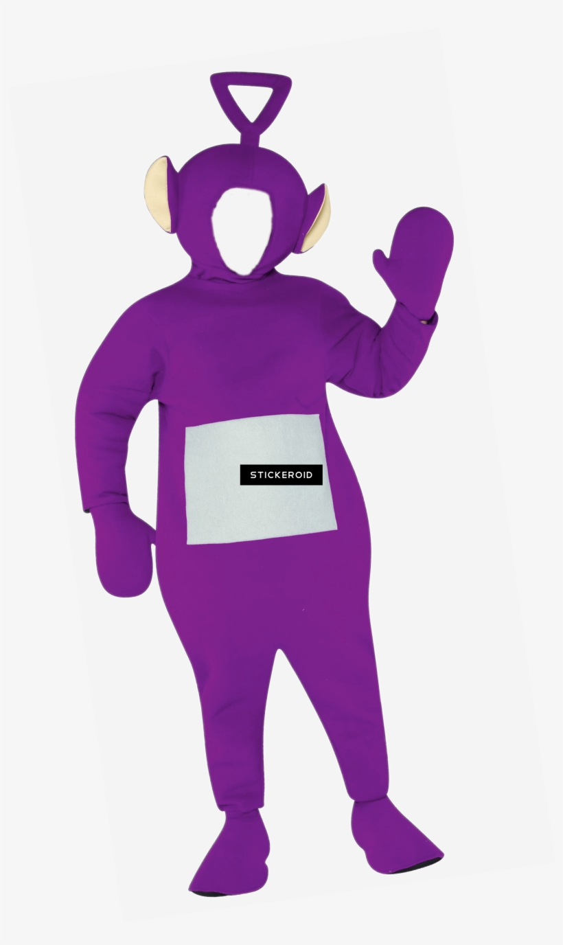 Teletubbies Tinky Winky Costume Adult - Teletubbie Adult Costume Four-pack, transparent png #4998062
