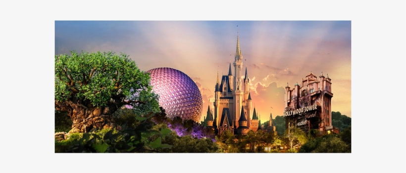Walt Disney World, transparent png #4999099