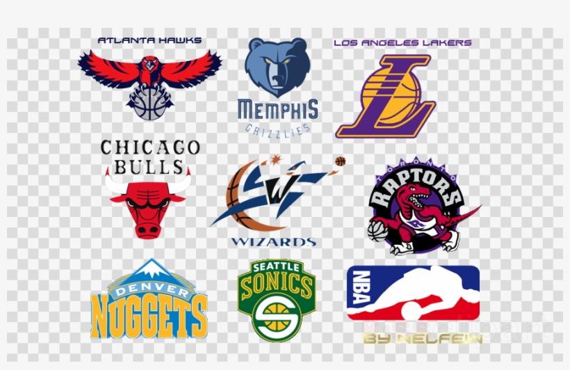 Download Logo Equipe De Sport Clipart Logo Nba Atlanta - Nba Toronto Raptors Logo Wall Graphic, transparent png #4999780