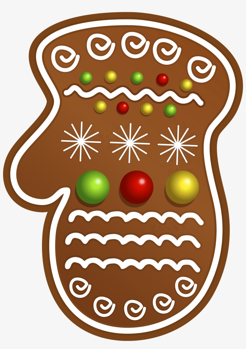 Christmas Cookie Glove Png Clipart Image - Christmas Cookies Clipart Png, transparent png #50698