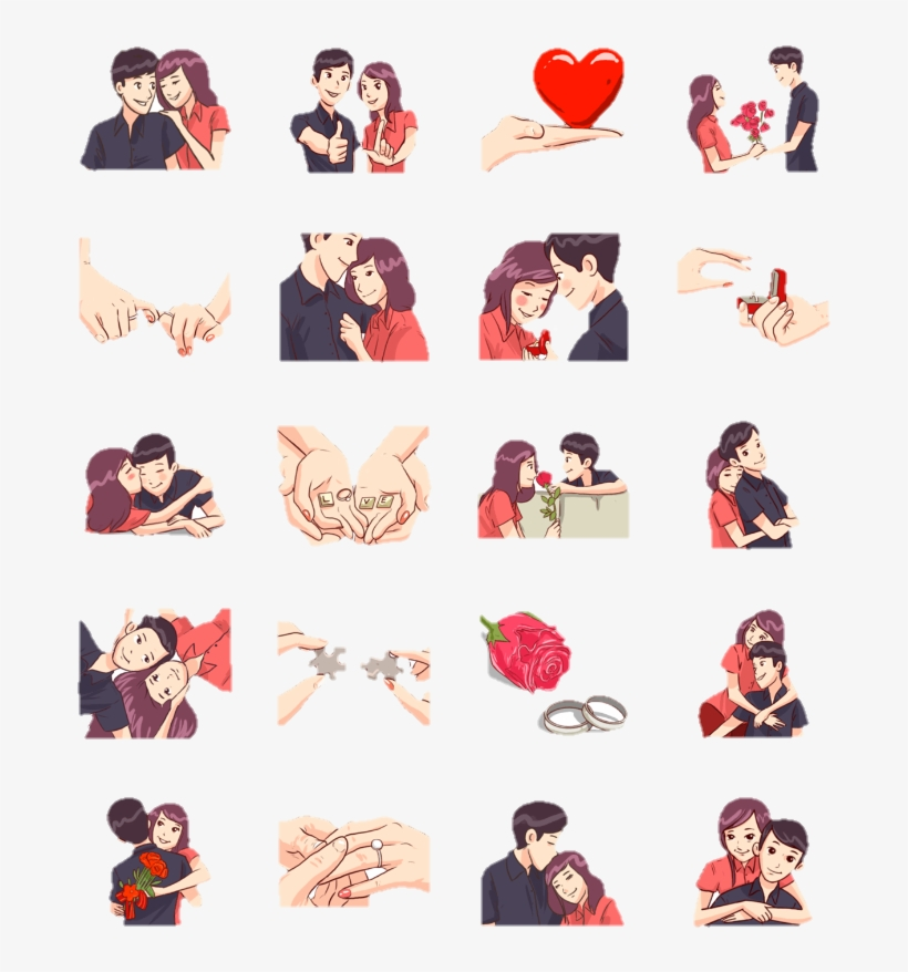 Whatsapp Status Love Stickers - Sticker For Whatsapp Status, transparent png #50714