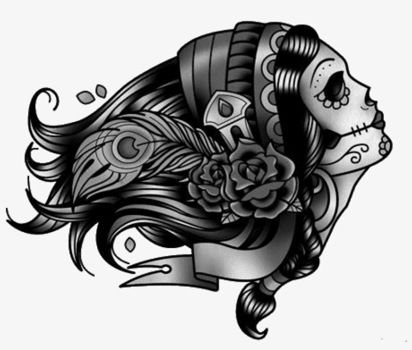 Tattoo Drawing Png - Rose Tattoo Transparent Png, transparent png #50800