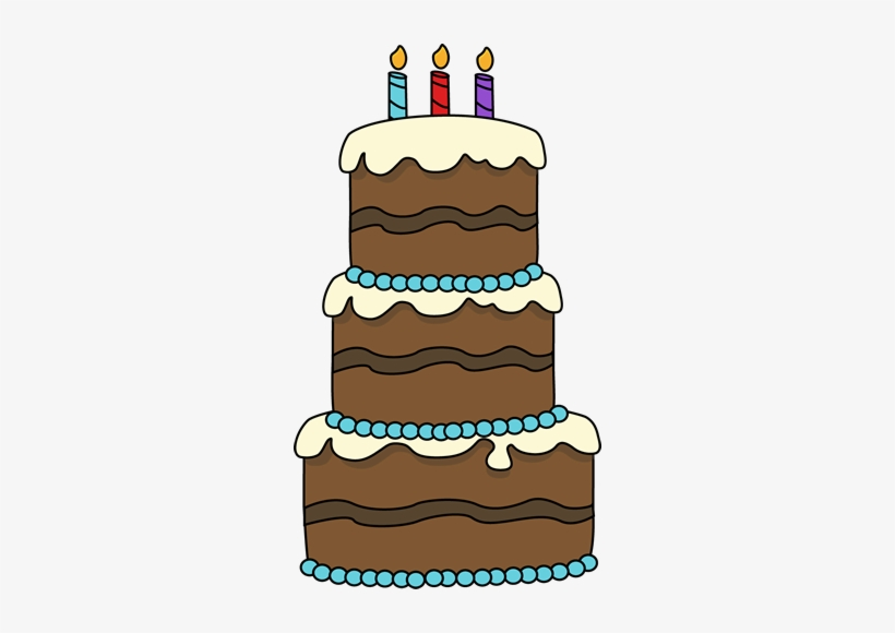 Birthday Cake Drawing 3 Layer Cake Clipart Free Transparent Png
