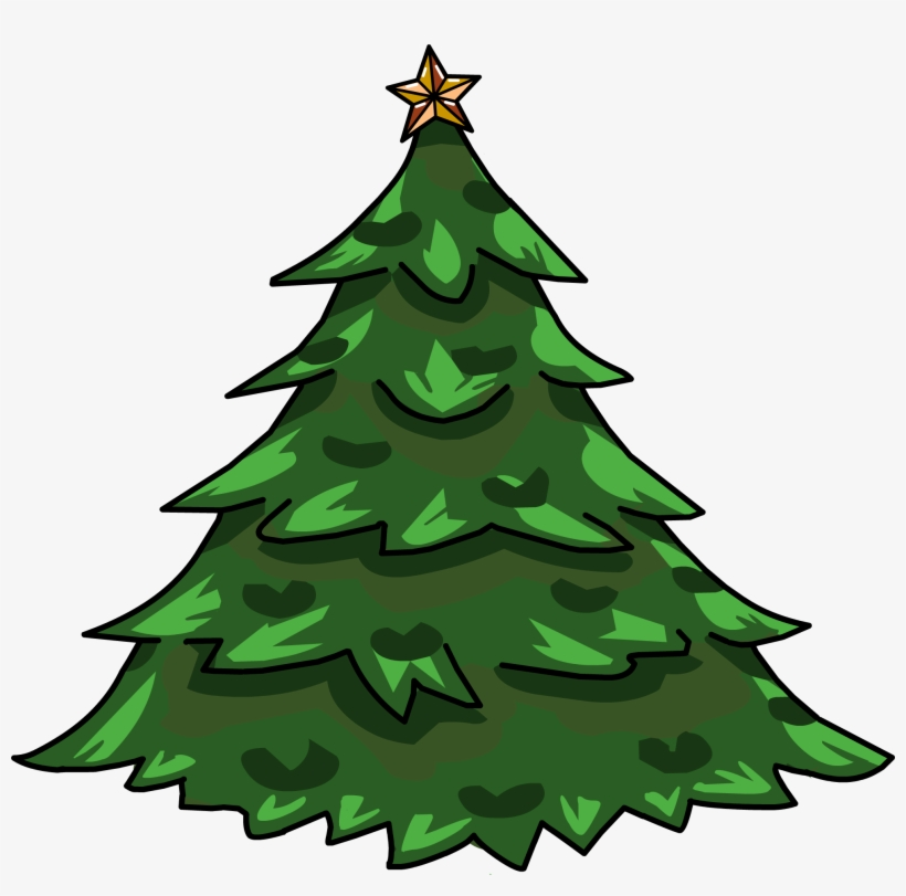 Holiday Tree - Club Penguin Christmas Furniture Id, transparent png #51685