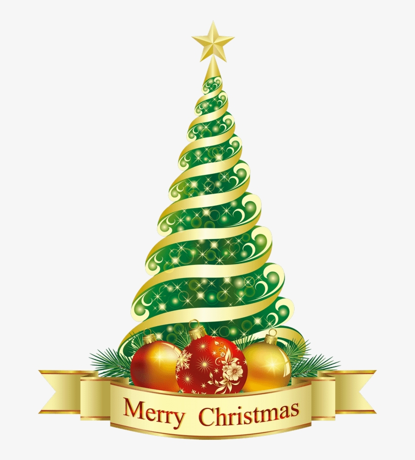 Merry Christmas With Christmas Tree, transparent png #51775