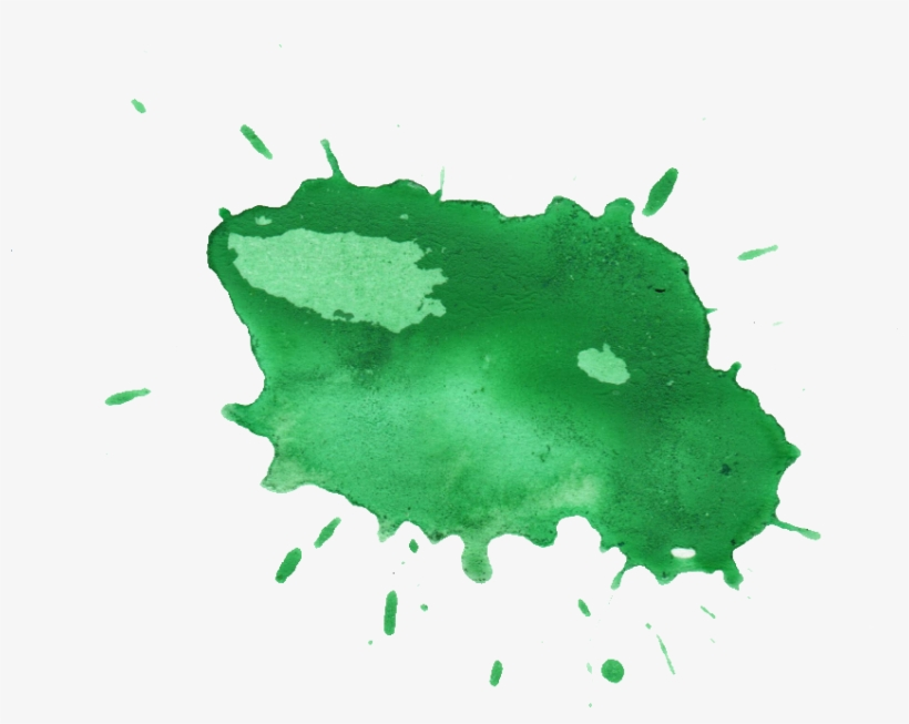 Free Download - Green Paint Splash Png, transparent png #51893