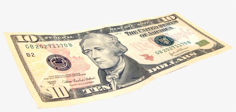 10 Dollar Bill Png, transparent png #51938