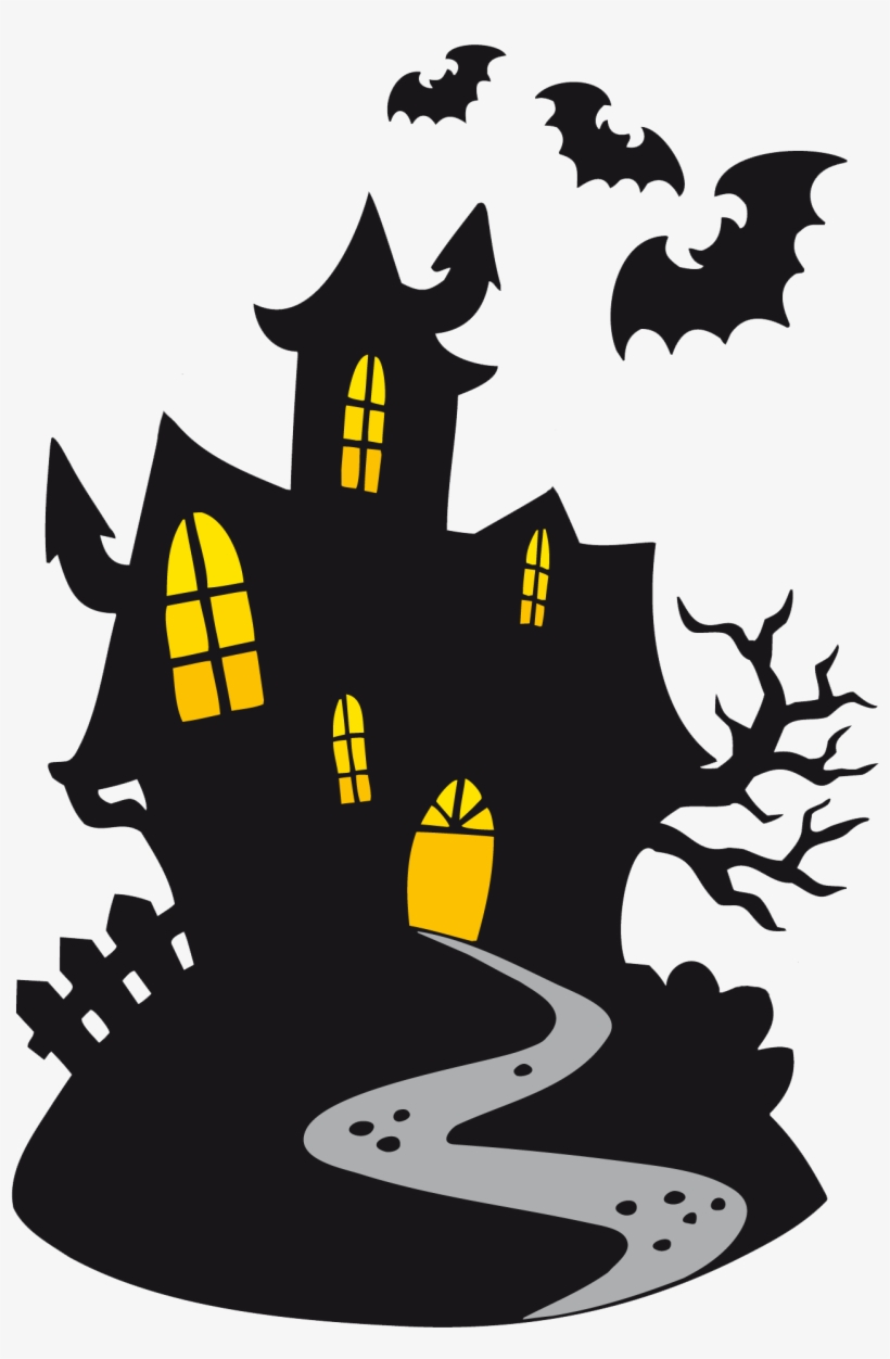 Get Happy Halloween Haunted House SVG