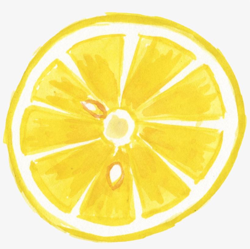 Graphic Royalty Free Lemon Svg Watercolor - Watercolor Lemon Transparent, transparent png #52466