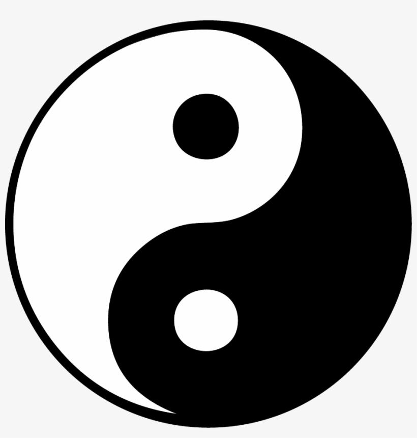 Ana Carrico Tattoos - Yin And Yang Jpg, transparent png #52619