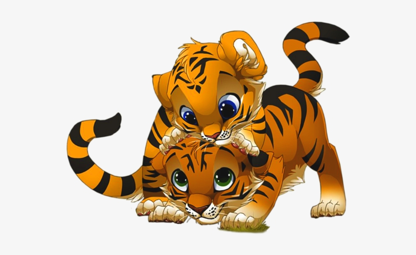 3f4d3829d Banner Royalty Free Baby Tiger Clipart - Tigers Clipart - Free ...