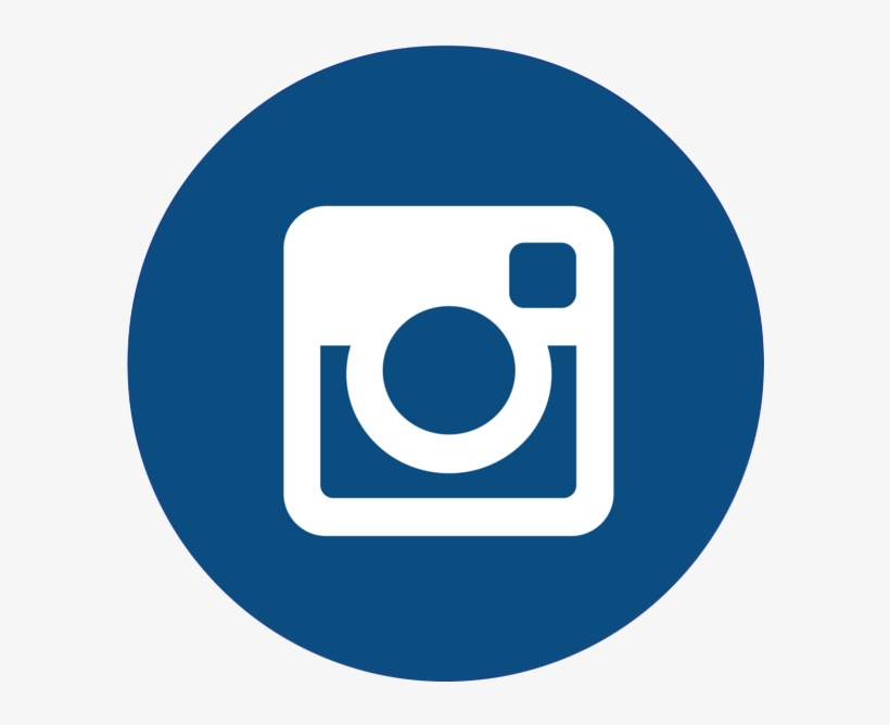 Connect With Singstark - Navy Blue Instagram Icon, transparent png #52772