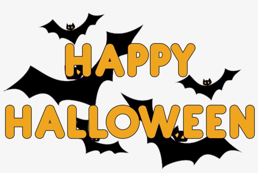 Transparent Happy Halloween Bat, transparent png #53385