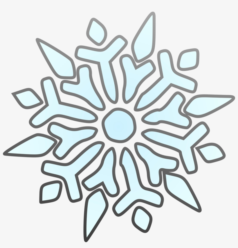 Clip Arts Related To - Snowflake Clip Art, transparent png #54295