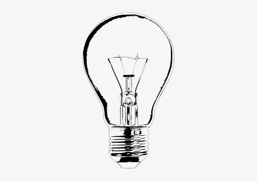 Bulb Drawing At Getdrawings - Light Bulb Art Drawing, transparent png #54549