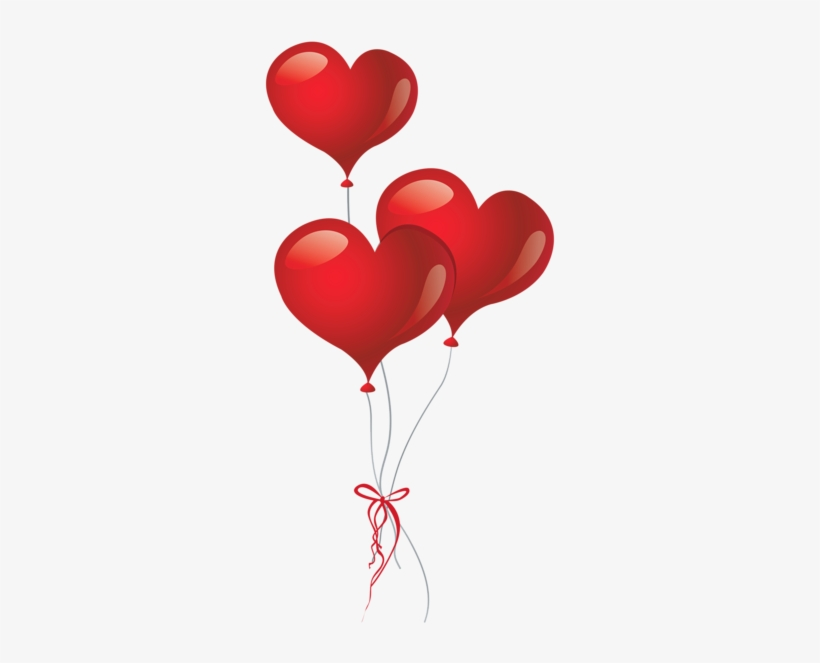 Heart Clipart Balloon - Clipart Heart, transparent png #54821