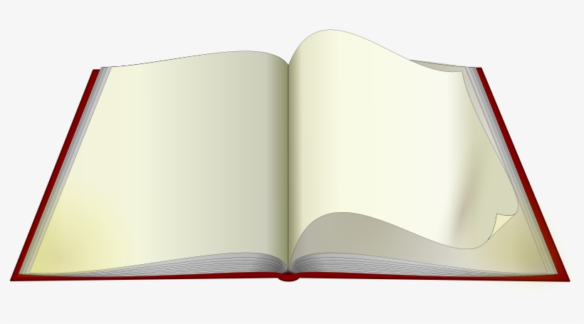 Clip Art Open Book Pages Png - Imagen De Un Libro Abierto Png, transparent png #55992