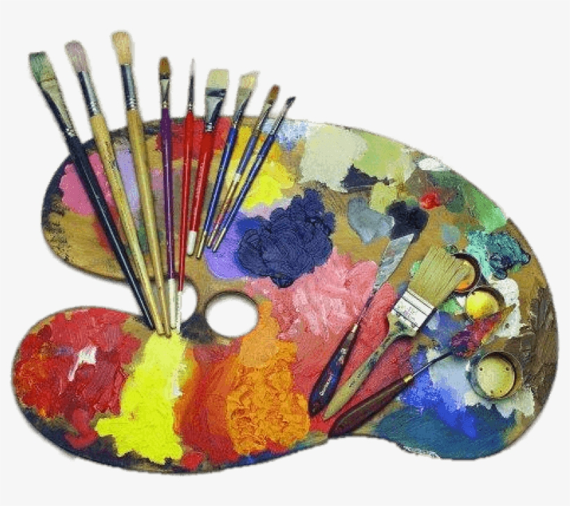 Watercolor Painting Art School Transprent Png Free - Art Supplies, transparent png #57049