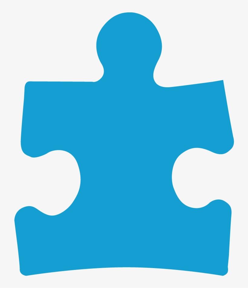 Puzzle Piece - Puzzle Piece Outline Autism, transparent png #57156
