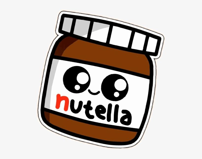 Dibujos Kawaii Png Nutella Kawaii Free Transparent Png Download