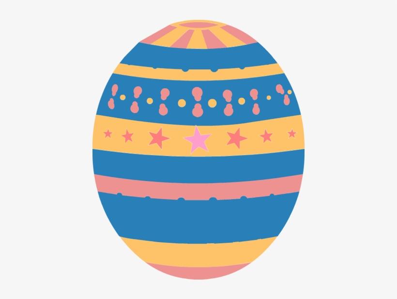 Easter Eggs Clip Art 3 Image - Pink Easter Egg Clipart, transparent png #58074