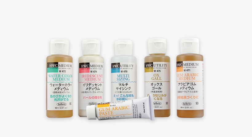 Holbein Watercolor Mediums - Holbein Multi-sizing Liquid, 55 Ml., transparent png #58555