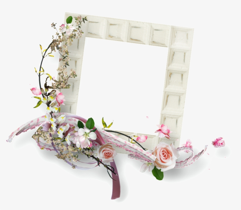 This Graphics Is Flower Border About Border - Picture Frame, transparent png #58577