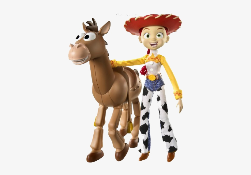 Toy Story Jessie Png Photos - Jessie And Bullseye From Toy Story, transparent png #58754
