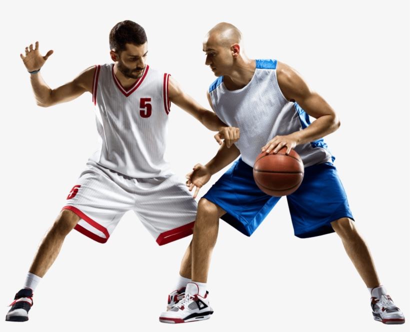 Basketball Player Png - People Playing Basketball Png, transparent png #59035