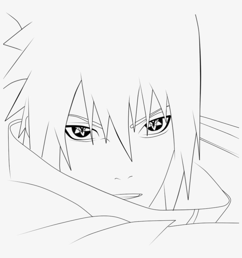 Drawing Sasuke Png Royalty Free Dibujos De Sasuke Para Colorear