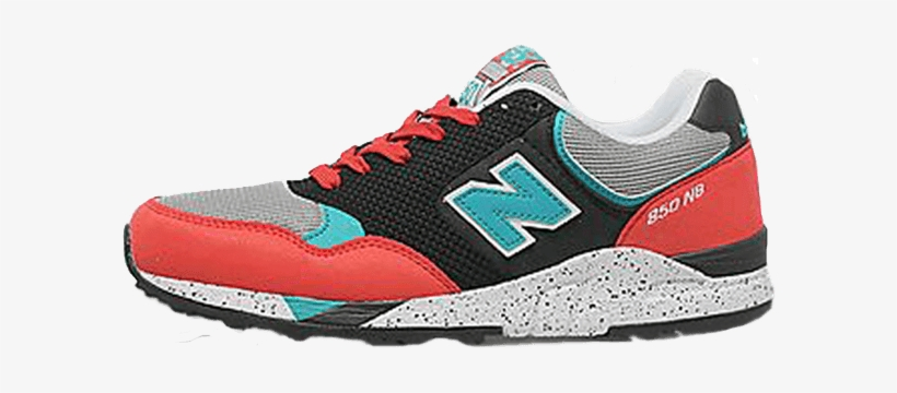 2fc44122d3d New Balance Shoe Png Clipart Free Stock - New Balance M850 Baskets Basses  Red black