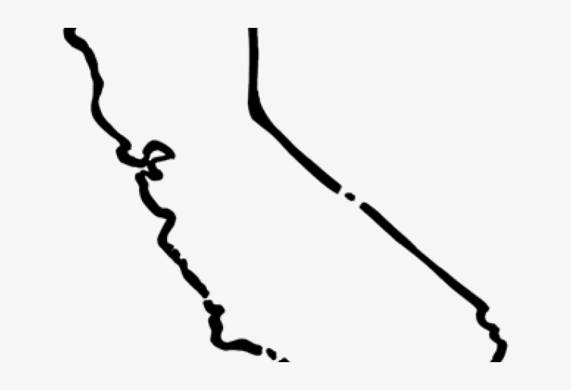Outline Of California State Of California Clip Art Free Transparent Png Download Pngkey