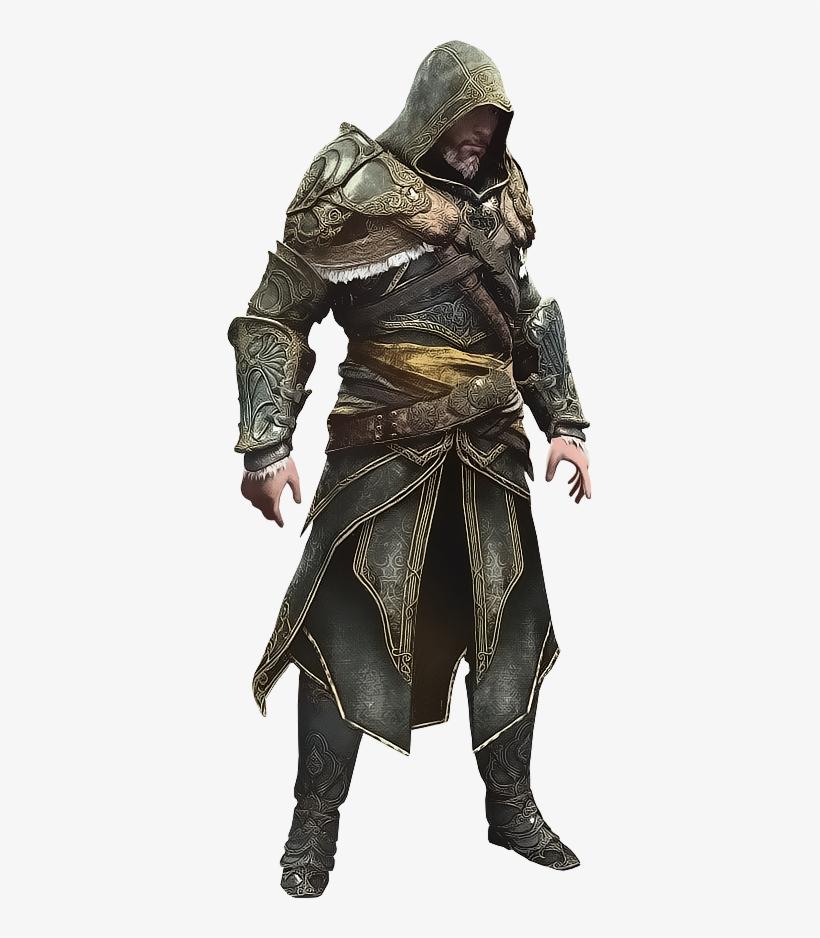 Ezio In Master Assassin Armor By Ivances - Master Assassin Armor, transparent png #503411
