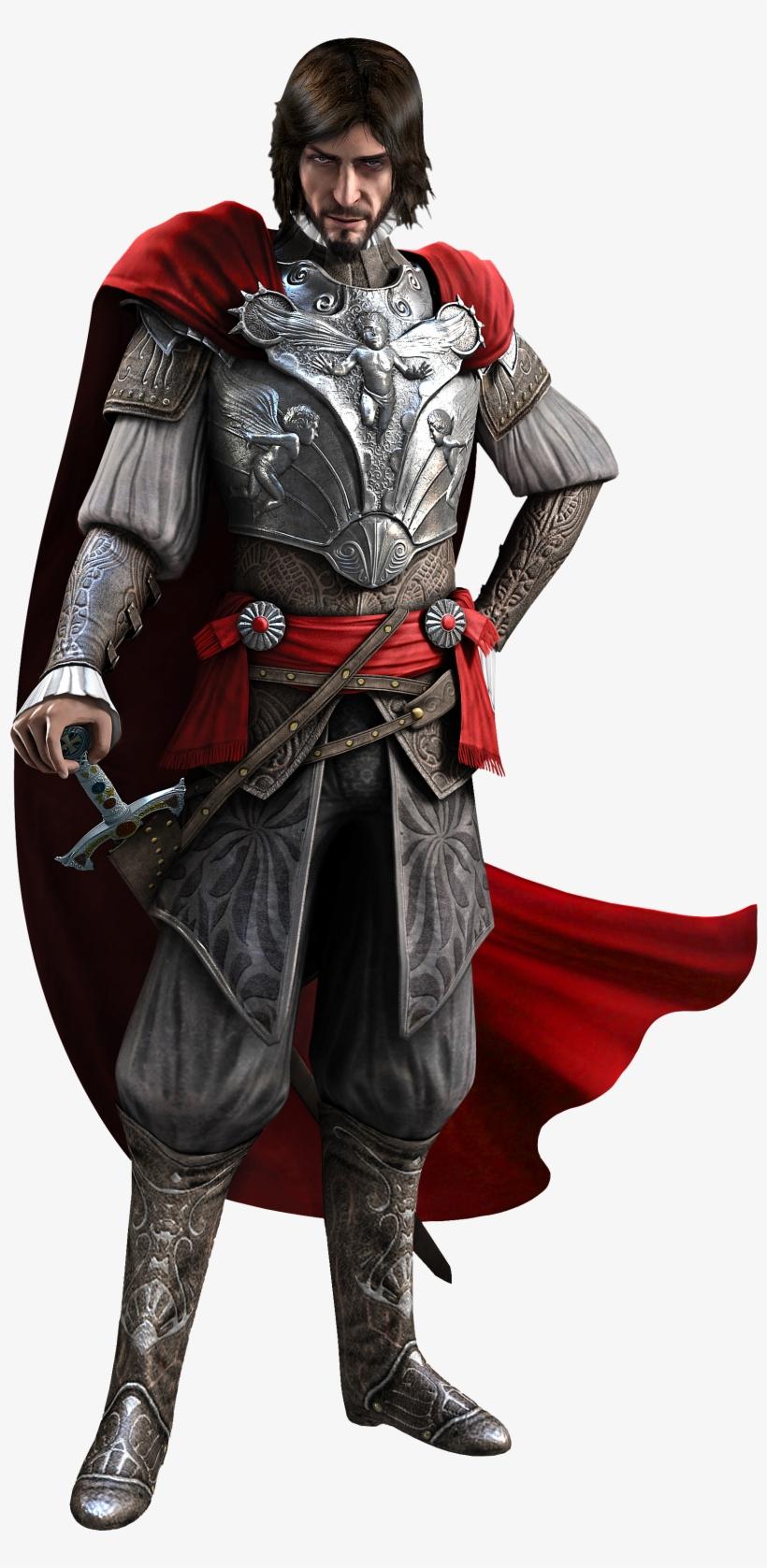 Assassin Creed Syndicate Clipart Render - Assassin's Creed Brotherhood Cesare Borgia, transparent png #503488