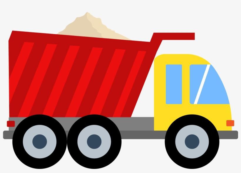 Clipart Royalty Free Stock Cartoon Truck Png Download - Dump Truck