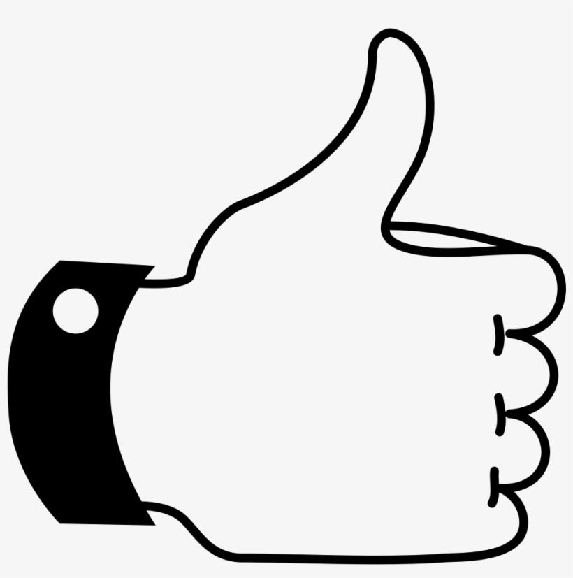 Like Thumb Up - Pulgar De Me Gusta, transparent png #504173