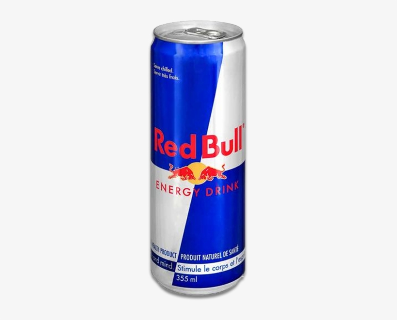 Red Bull Png - Red Bull 16 Oz Can, transparent png #506439