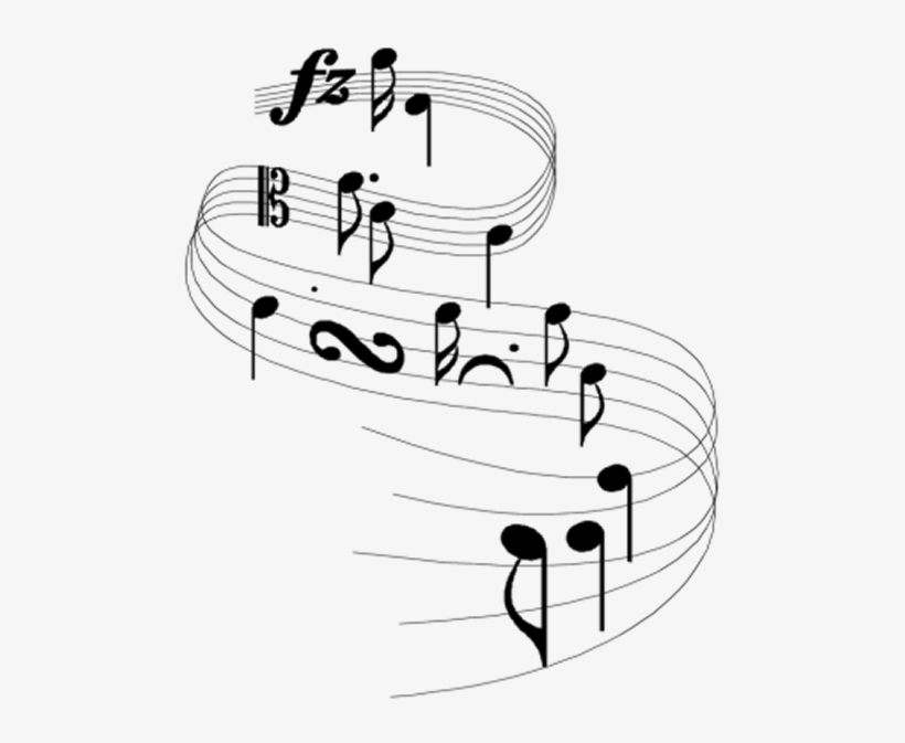 Music Notes Clipart Free - Pink And Purple Music Notes, transparent png #506516