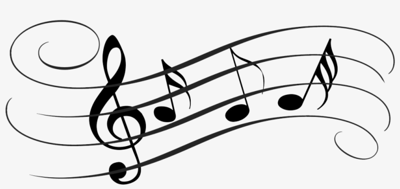 Tune Png Transparent Images - Musical Notes Note Cards, transparent png #506544