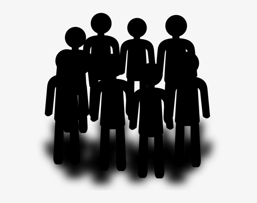 Population Group People Clip Art At Clker - Group Of People Clipart, transparent png #508633