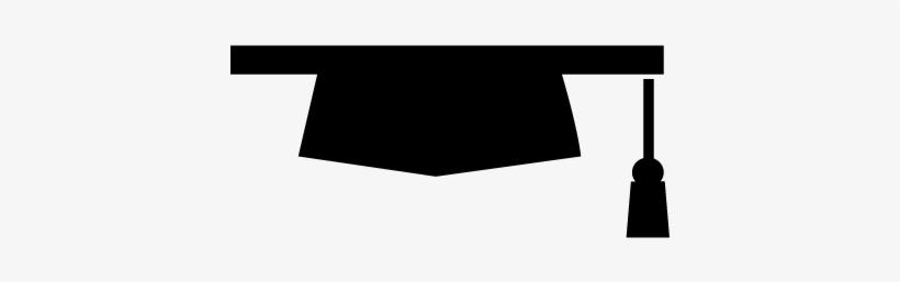 Graduation Hat Silhouette Variant Vector - Silueta De Gorro De Graduacion Png, transparent png #509997
