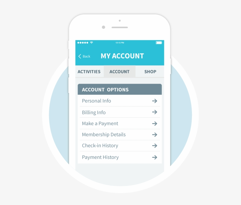My Account - Mobile App Branding Transparent, transparent png #5010796