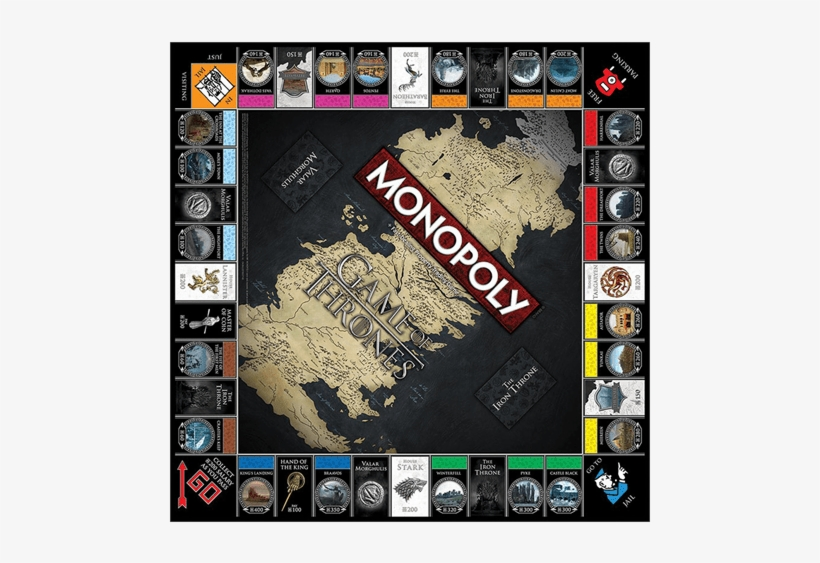 1 Of - Game Of Thrones Monopoly, transparent png #5012116