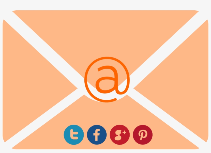 Redes Sociales En Una Campaña De Email Marketing - Email, transparent png #5013347