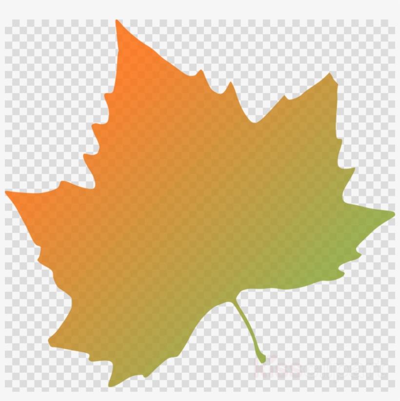 Autumn Leaf Vector Clipart Autumn Leaf Color Clip Art - Purple Fall Leaves Clip Art, transparent png #5014214