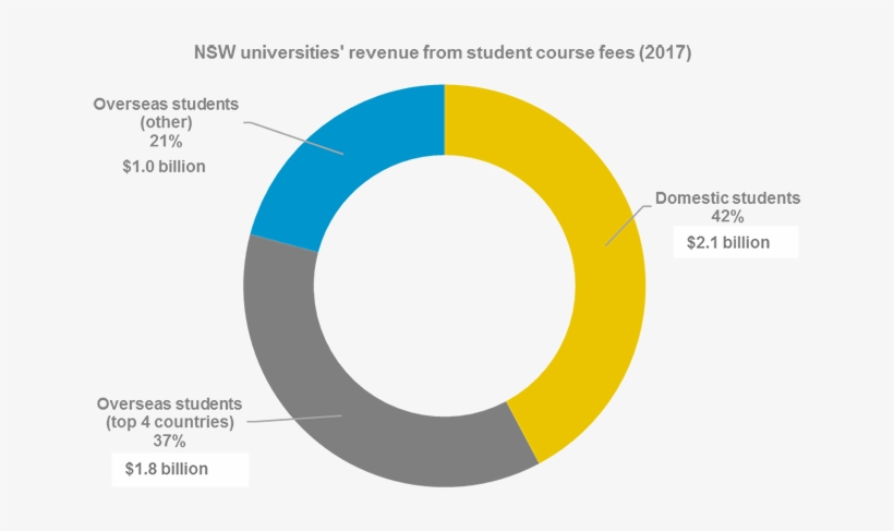 The Following Pie Chart Shows Nsw Universities Revenue Student